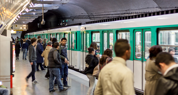 Métro de Paris (Istock)