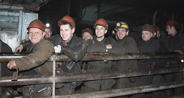 Groupe de miniers (Istock)