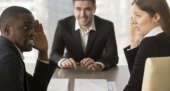 Flop lors d'un entretien d'embauche (Istock)