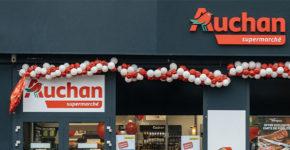 Enseigne Auchan (Istock)